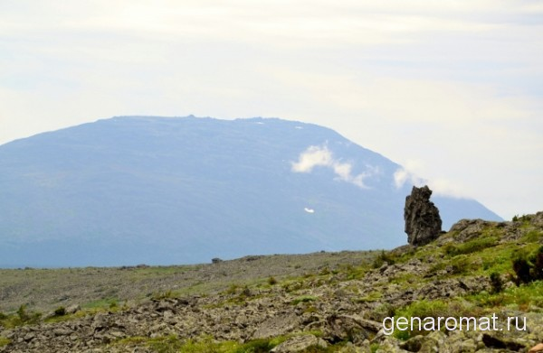 Хорошо видна красавица Косьва-1520 метров