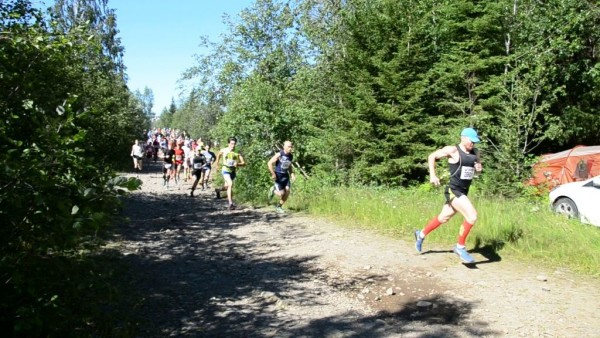 Пробежали 195 метров, а впереди 42 километра.