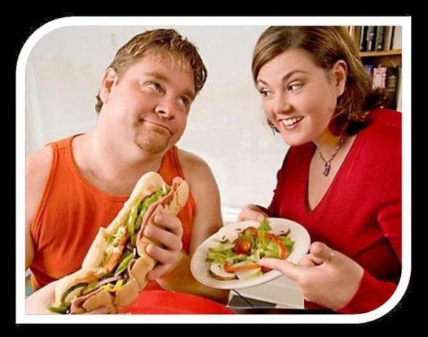 Чем больше жирной пищи вы едите, тем выше уровень холестерина.
