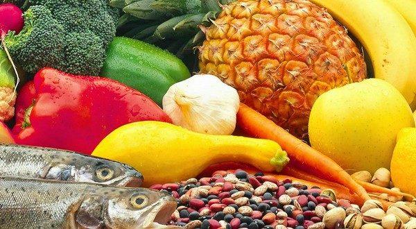 Овощи и фрукты понижают холестерин.