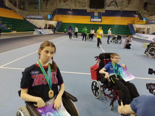 Надя, победитель соревнований