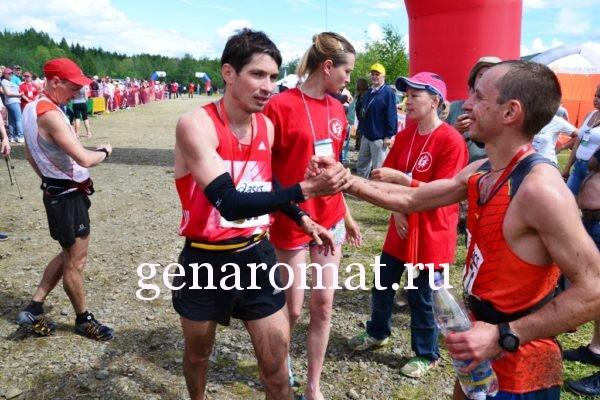 Победитель и призер марафона.