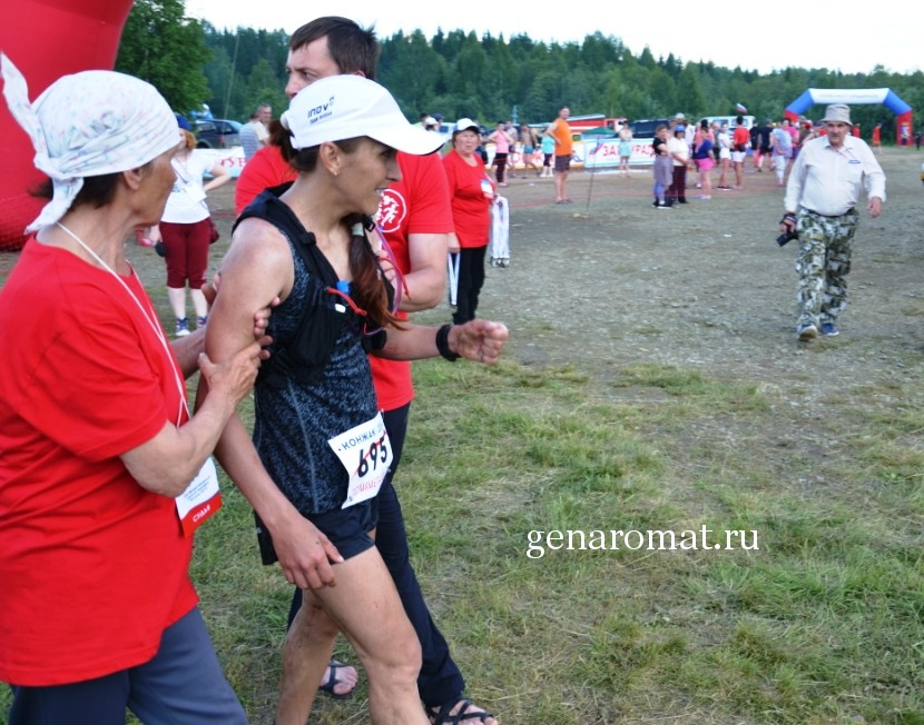 Рухляда Елена. Победительница среди женщин на марафоне Конжак 2018