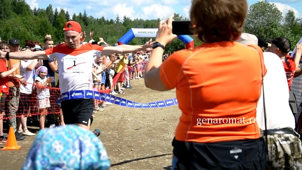 Победитель горного марафона Конжак 2018