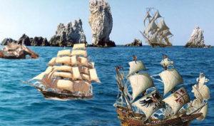 Скороговорка- корабли лавировали