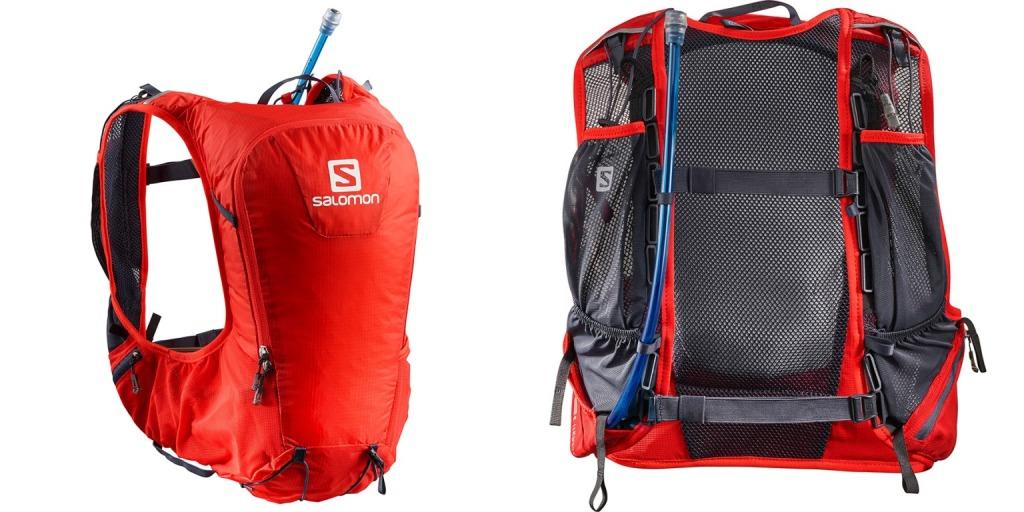 Рюкзак беговой Рюкзак Salomon Skin Pro 10 Fiery RedGy