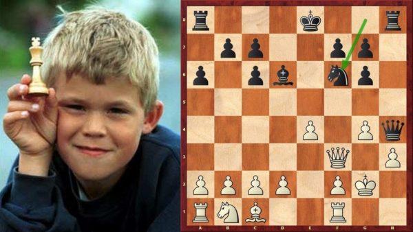 Магнус Карлсен. Будущий чемпион мира.