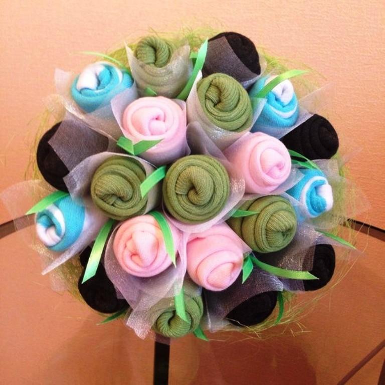 Букет из цветов-6