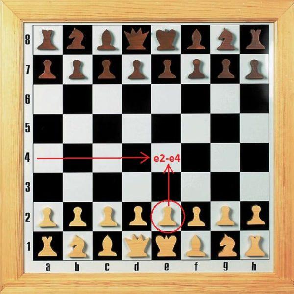 Ходы пешкой в шахматах