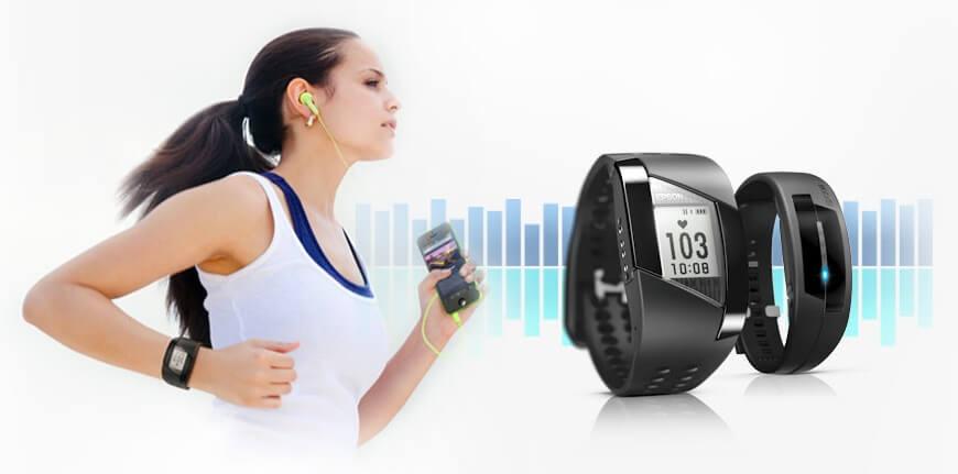 Фитнес браслет для бега