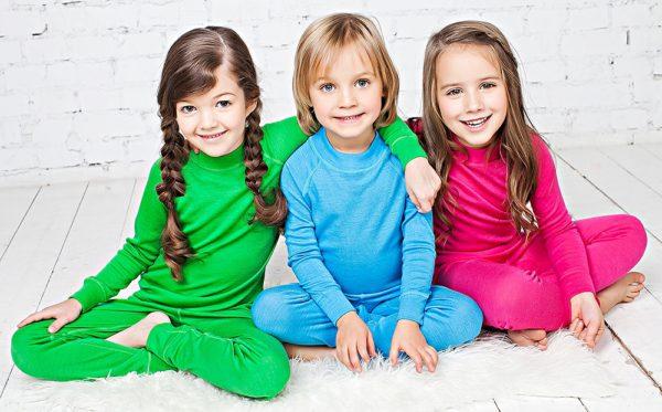 Детское термобелье из шерсти мериноса