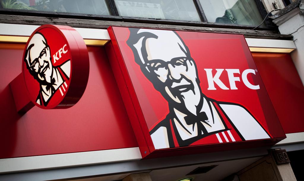 Основатель KFC - полковник Сандерс