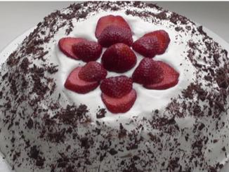 Торт из зефира Лайма