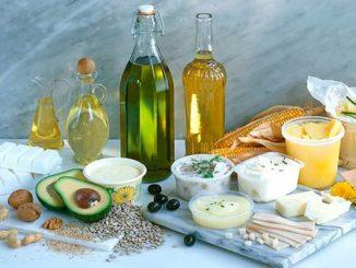 Продукты содержащие жир.