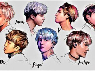 Рисуем группу BTS