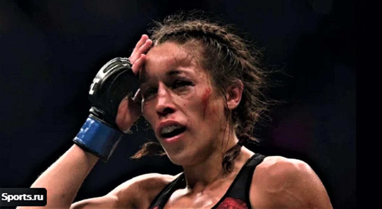 Джоанна Енджейчик после боя на UFC 248