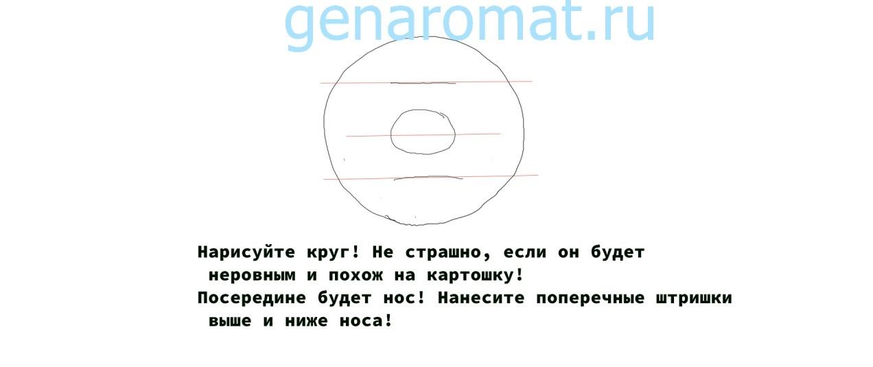 Как нарисовать Черномора