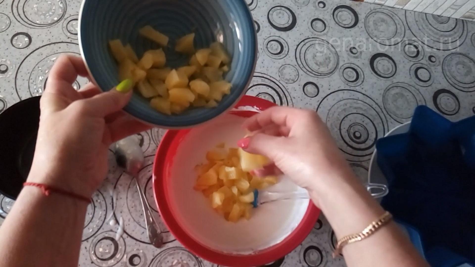 Загружаем ананас