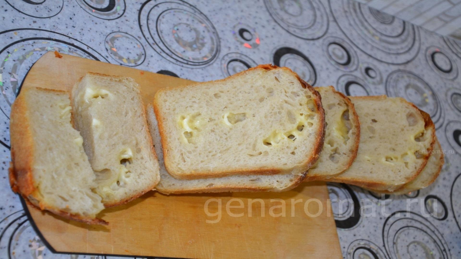 Пшенично-сырная булка