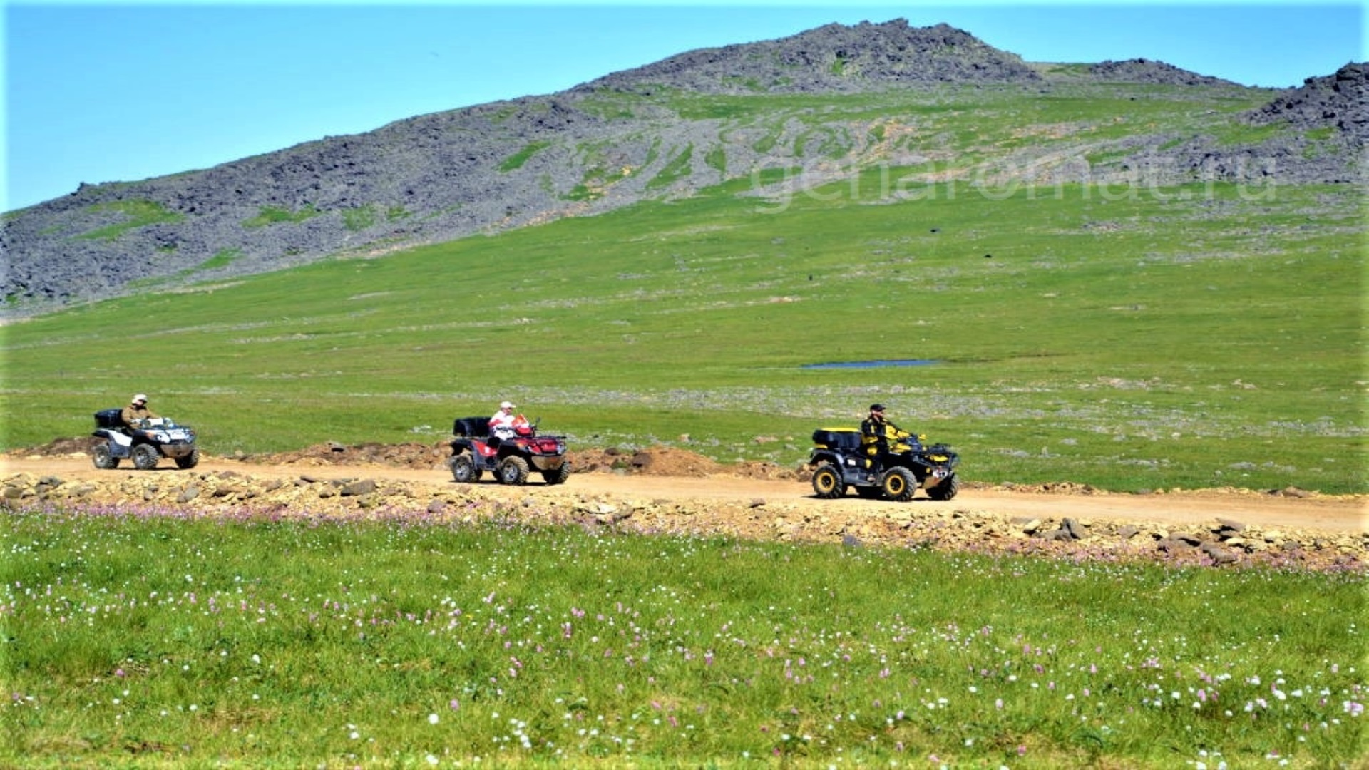 Квадроциклы на Йовском плато