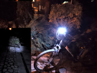 фонарь велосипедный